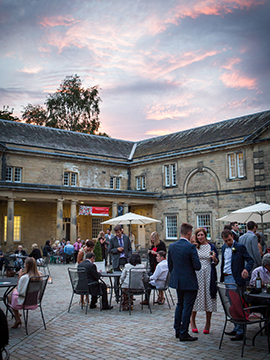 harewood house courtyard at twighlight www.oliviabrabbs.co.uk