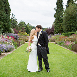 newby hall marquee wedding