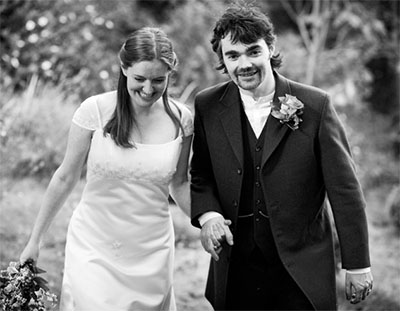 reportage wedding photography of bride and groom in liverpool
